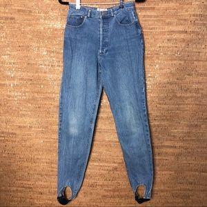 Vintage POLO RL Stirrup Jeans Button Fly Sz 29